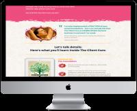 Lisé Kuecker  - sales page the Client Cure