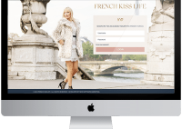 Tonya Leigh - French Kiss Life website and Online Courses